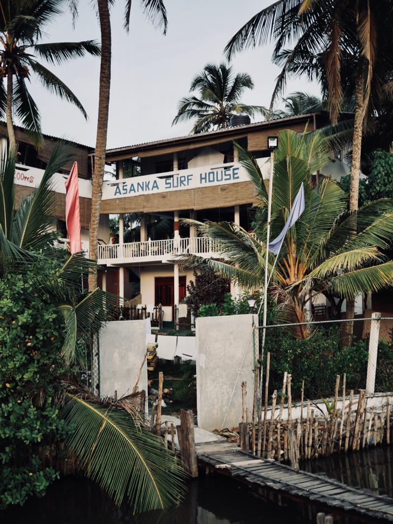 Asanka Surf lodge Midigama - Sri Lanka - Chipiron Surf
