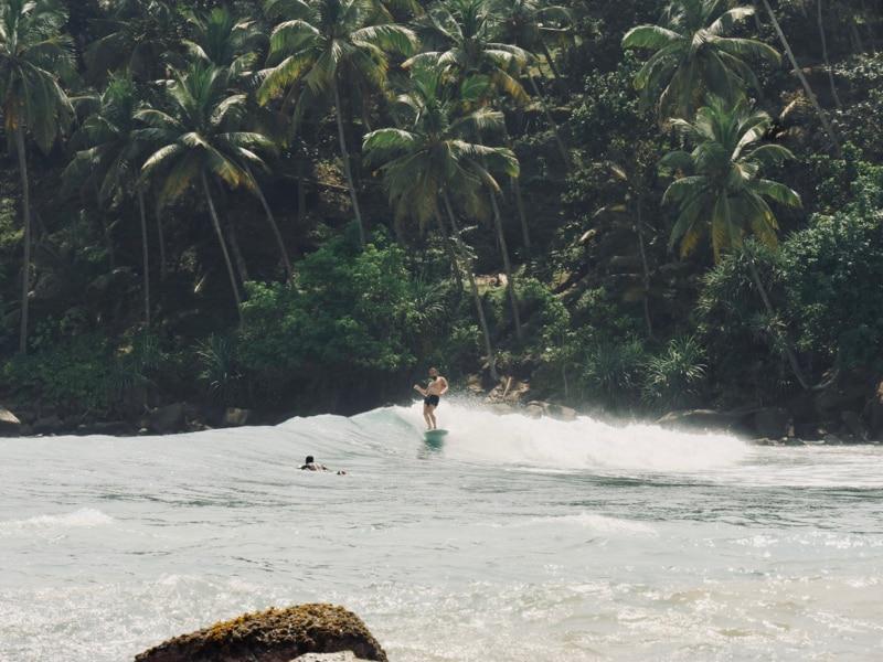 Damien à Mirisa - Chipiron Surf