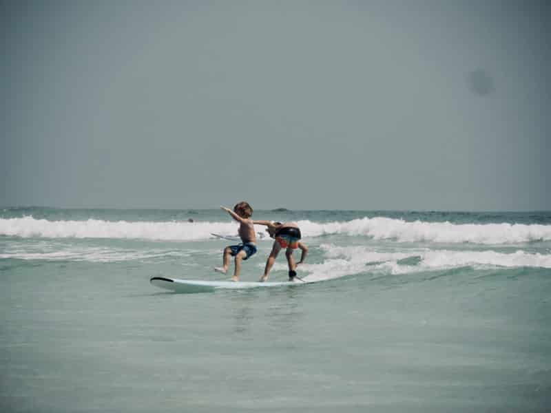 Surf tandem entre frères - Chipiron Surf