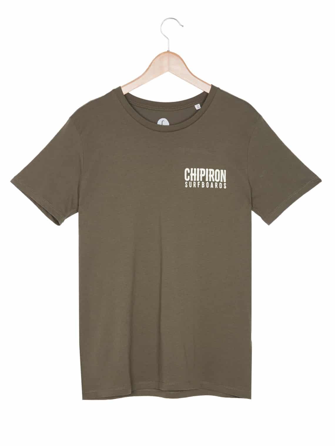 T-shirt Don't be a mouton Chipiron kaki