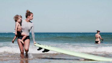 Bonne Fête à toutes les mamans surfeuses