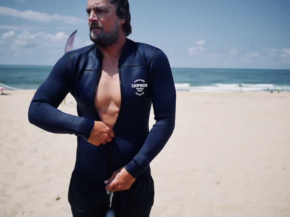Veste néoprène Chipiron Surf Hossegor