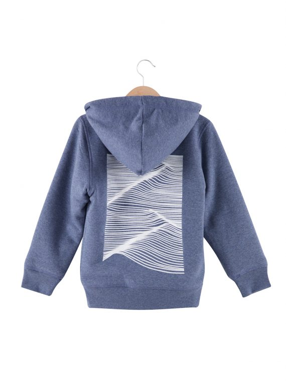 Sweat fourré kid Swell By the Minimalist Wave x Chipiron Surf back