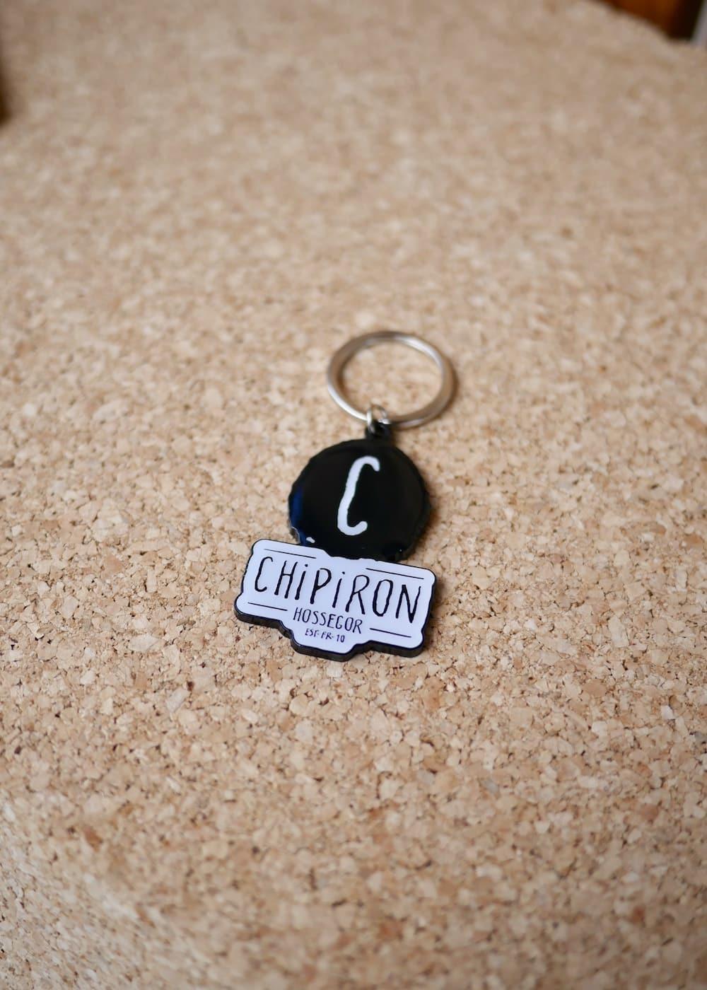 Porte clé Chipiron Hossegor