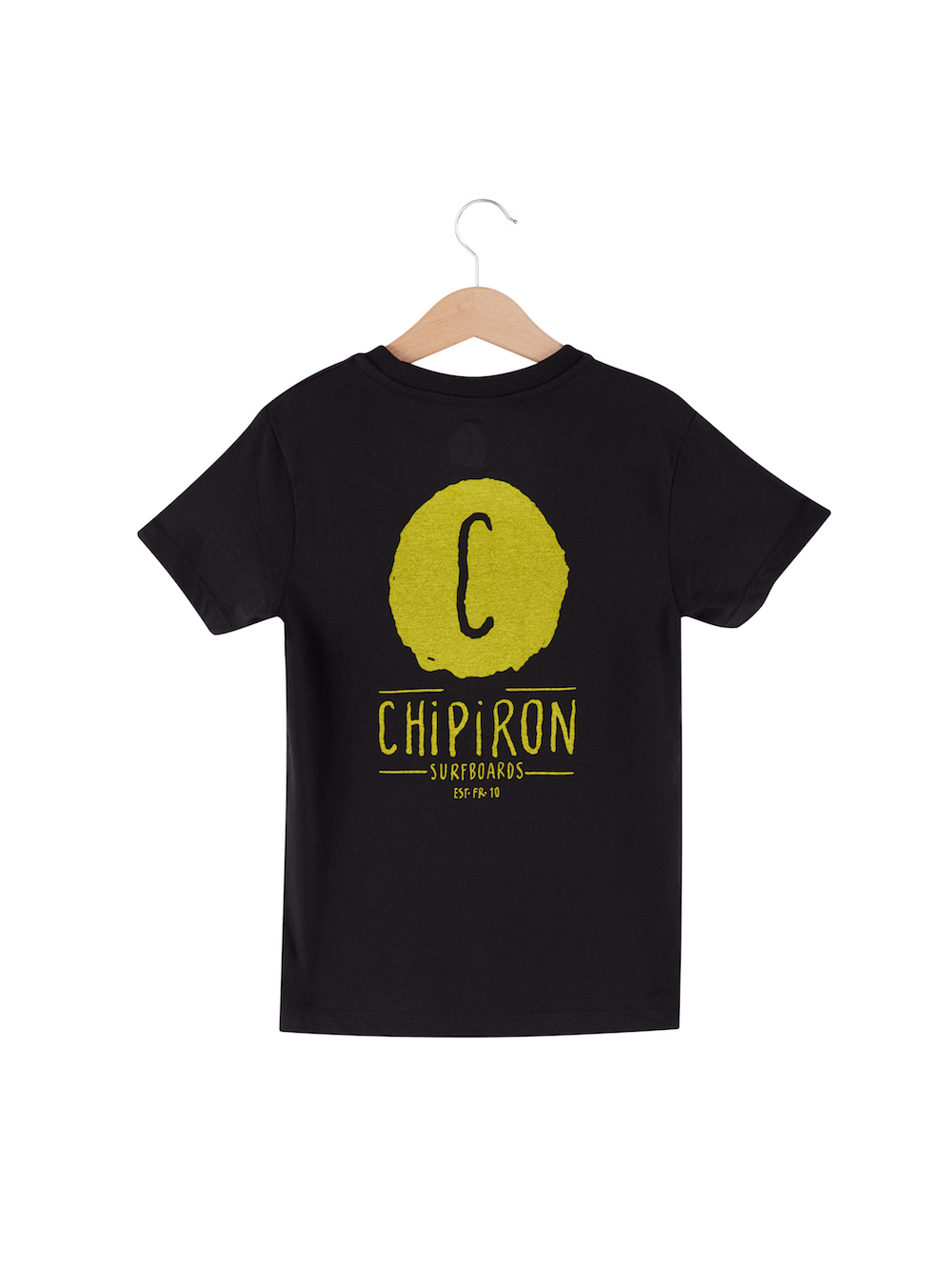 t-shirt enfant backprint logo Chipiron Hossegor