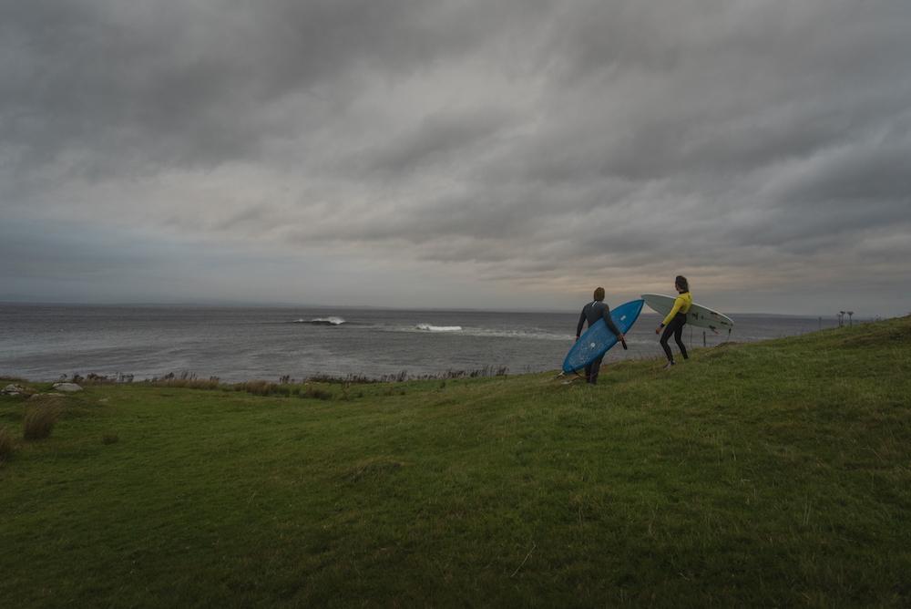 Coco et Damien - Chipiron surf Irlande