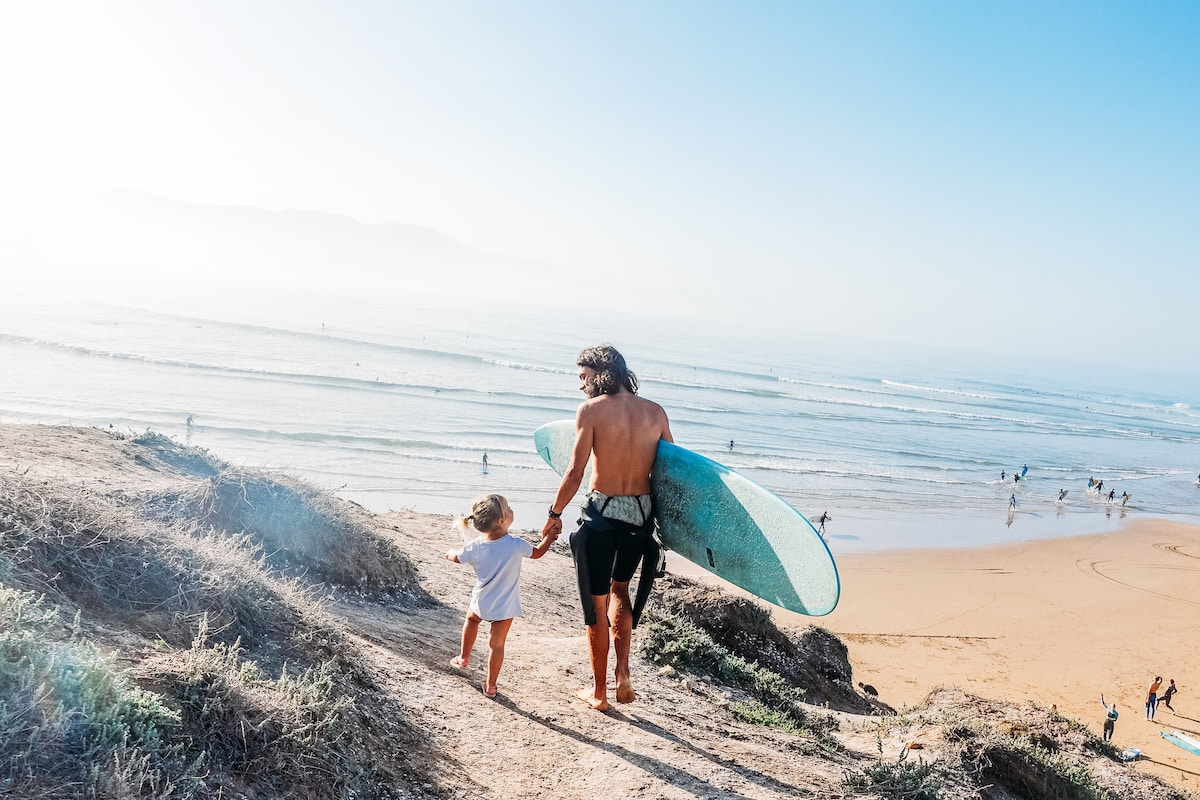 surf family - notre petite camion - chipiron family