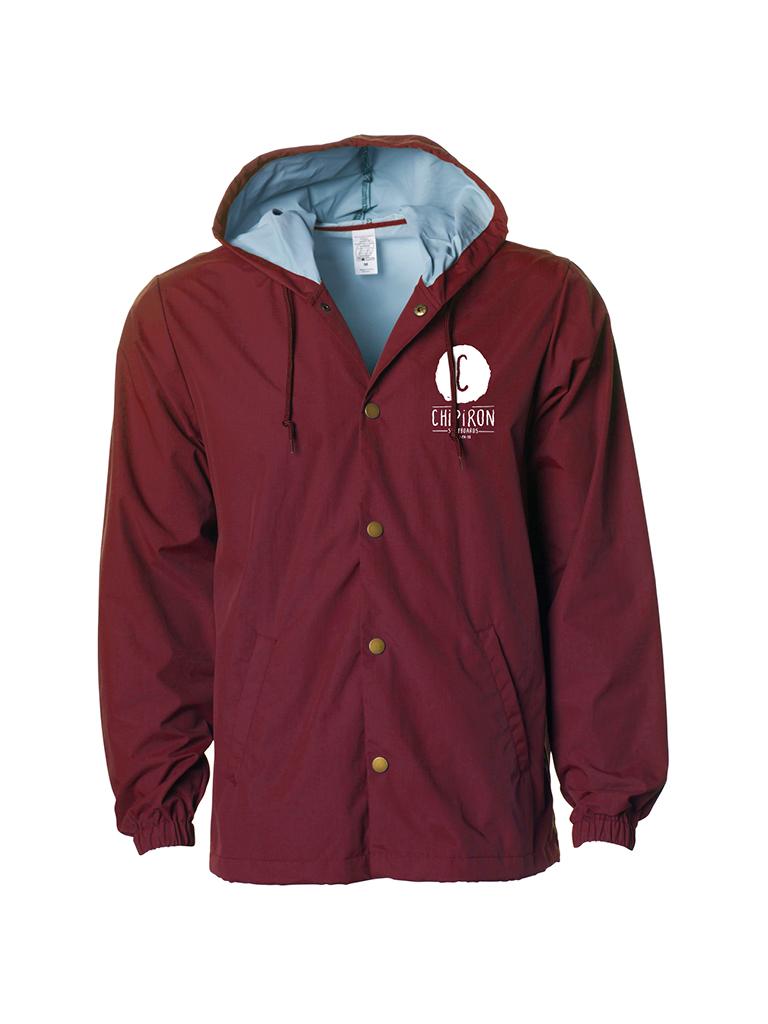 Coach jacket Chipiron bordeaux