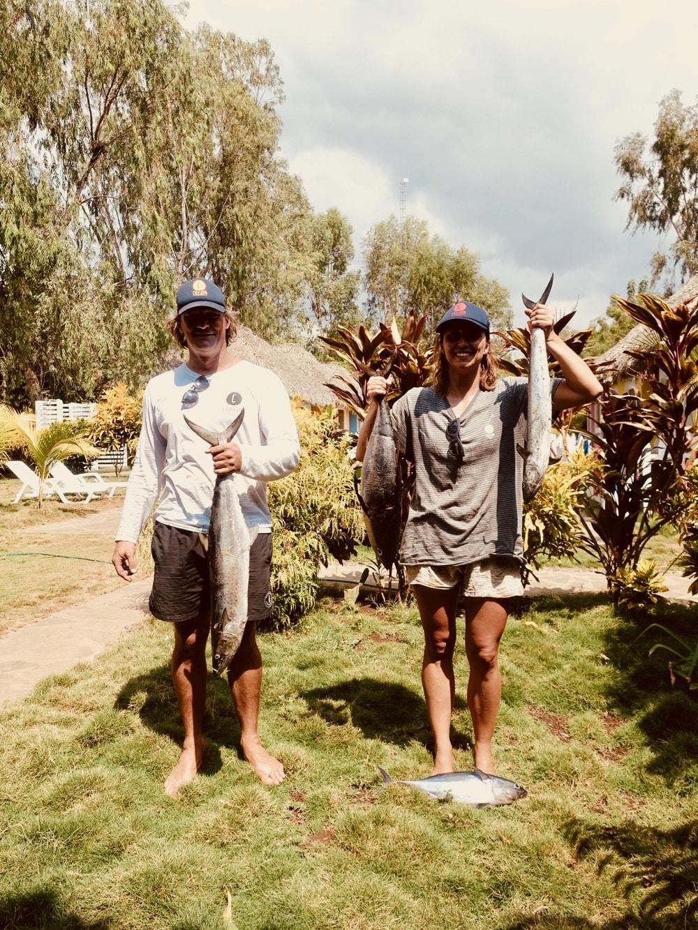 Pêche au Nicaragua - Chipiron surf trip
