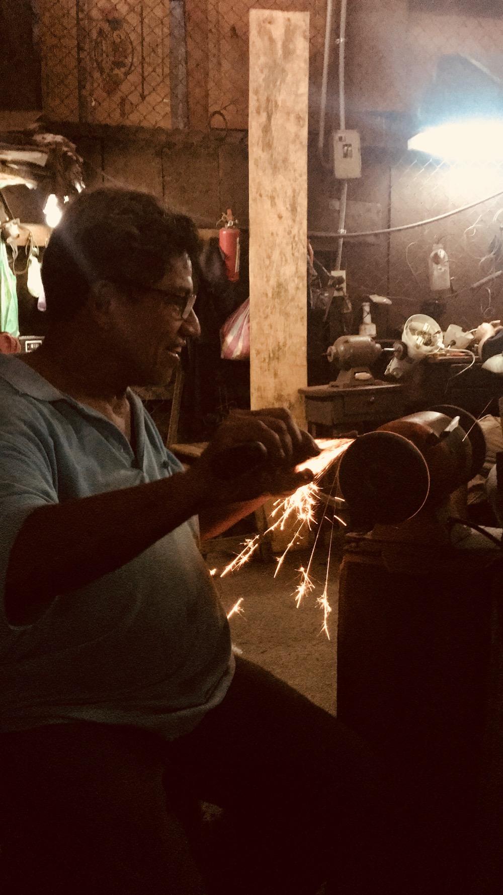 Ferronnier à Chinendega Nicaragua