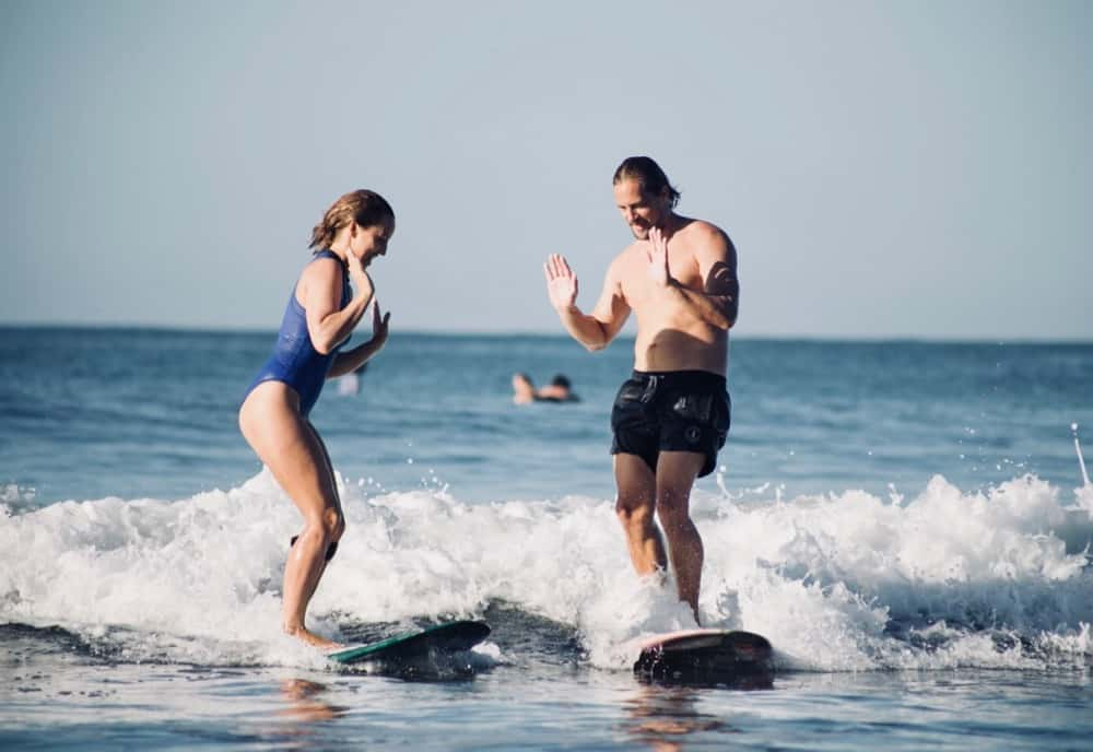 Couple surf - Chipiron surf trip