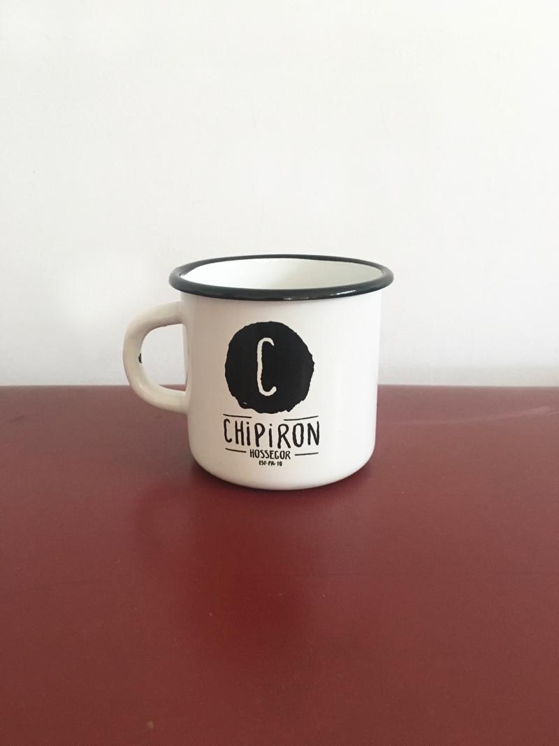 Mug Chipiron Hossegor blanc