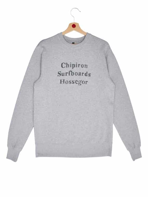 sweat chipiron surfboards hossegor gris
