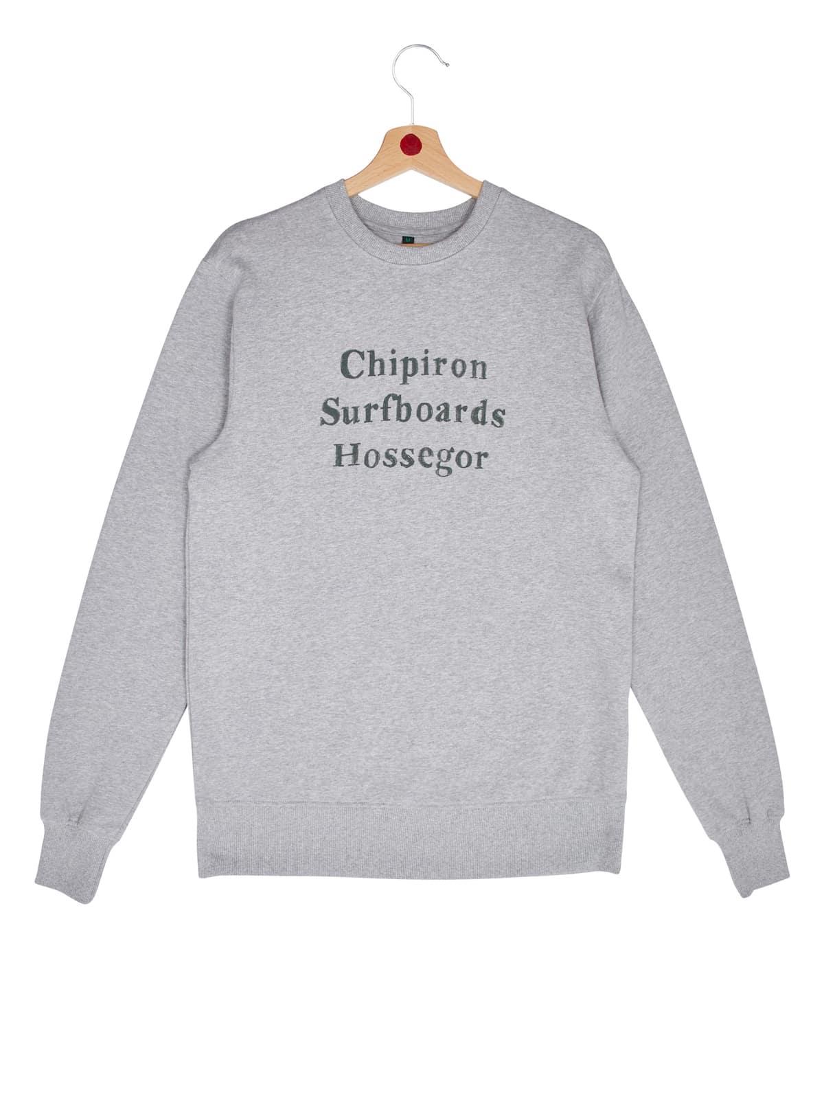 sweat chipiron surfboards hossegor gris