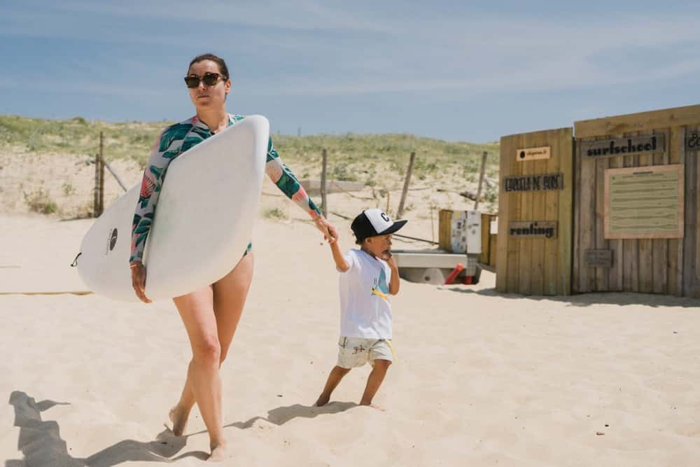 Anna surf enfants Chipiron surf hossegor