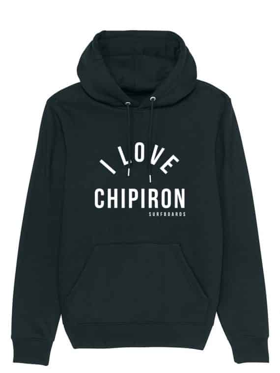 sweat capuche I love chipiron