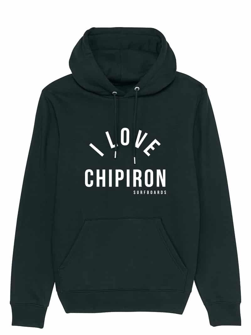 sweat capuche I love chipiron