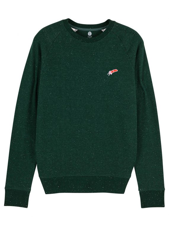 sweatshirt Mini patch Chipiron vert