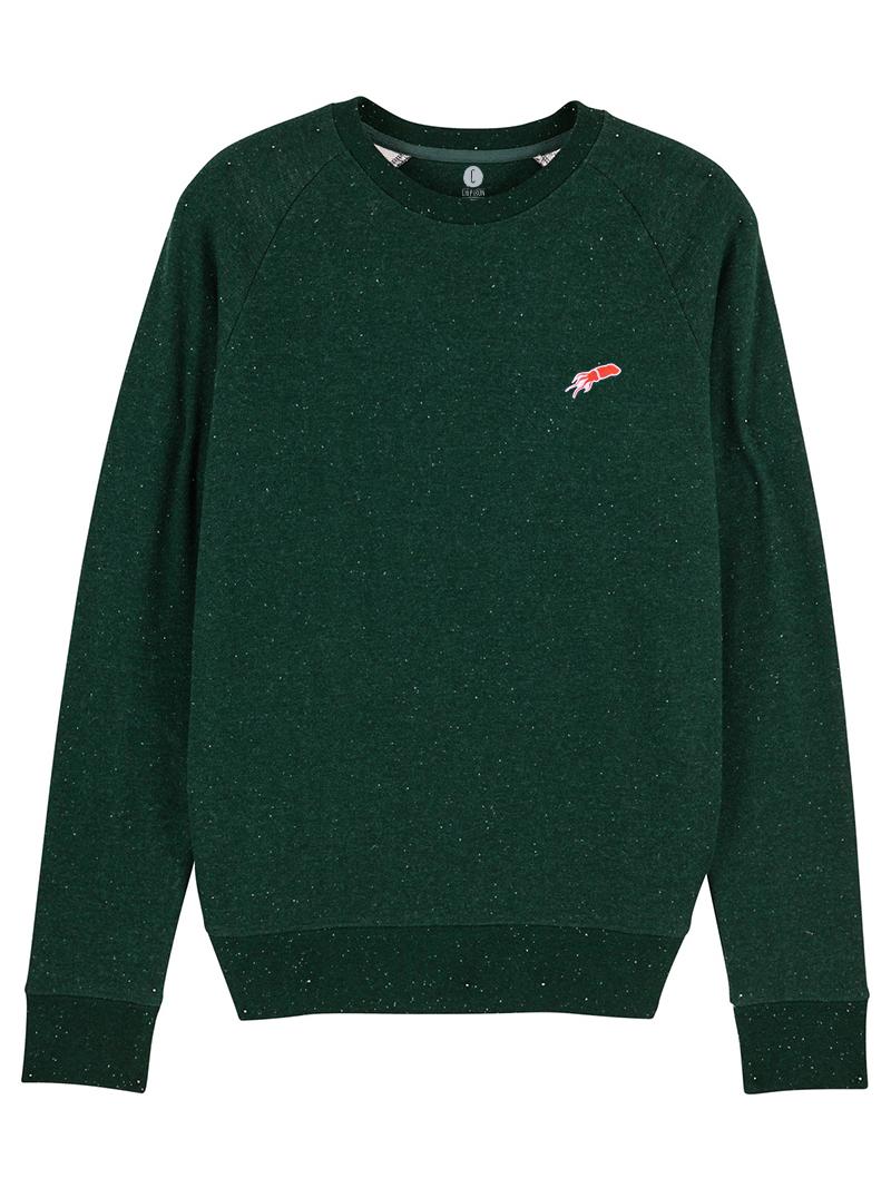 sweatshirt Mini patch Chipiron vert