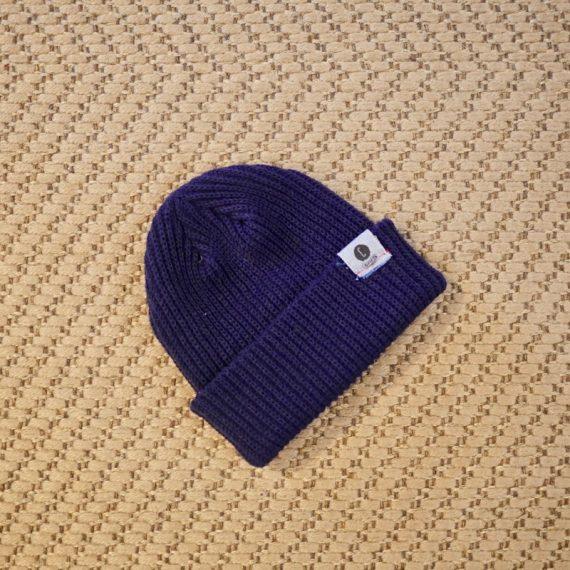 Bonnet maille bleu Chipiron Surf