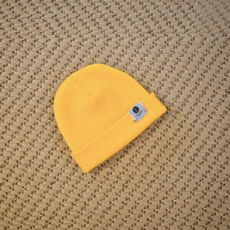 Petit bonnet moutarde Chipiron