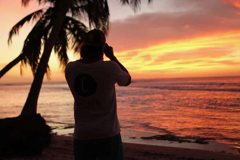 Coucher de soleil aux Mentawai - chipiron surf trip