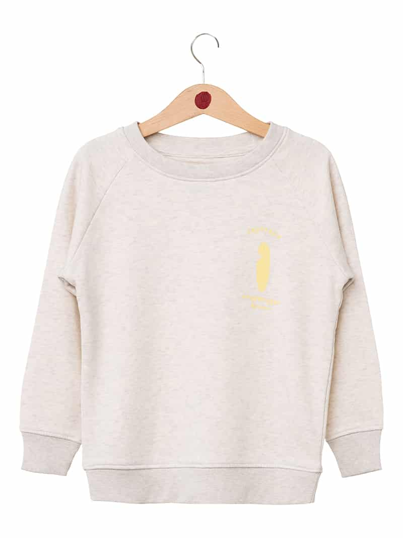 Sweatshirt Pastel Surf Love enfant front