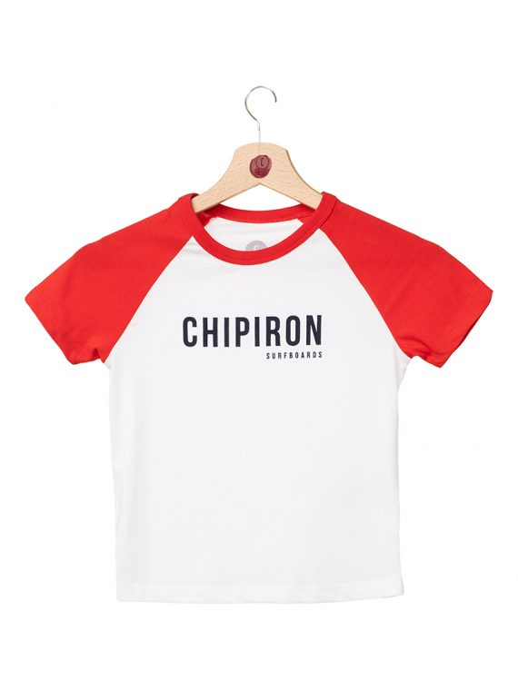 Tshirt raglan rouge enfant Chipiron