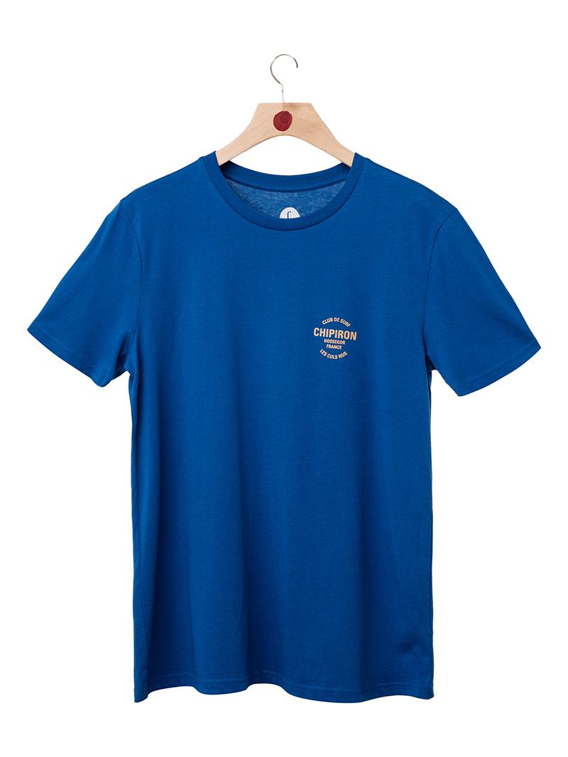 Tshirt club de surf SS20 bleu front