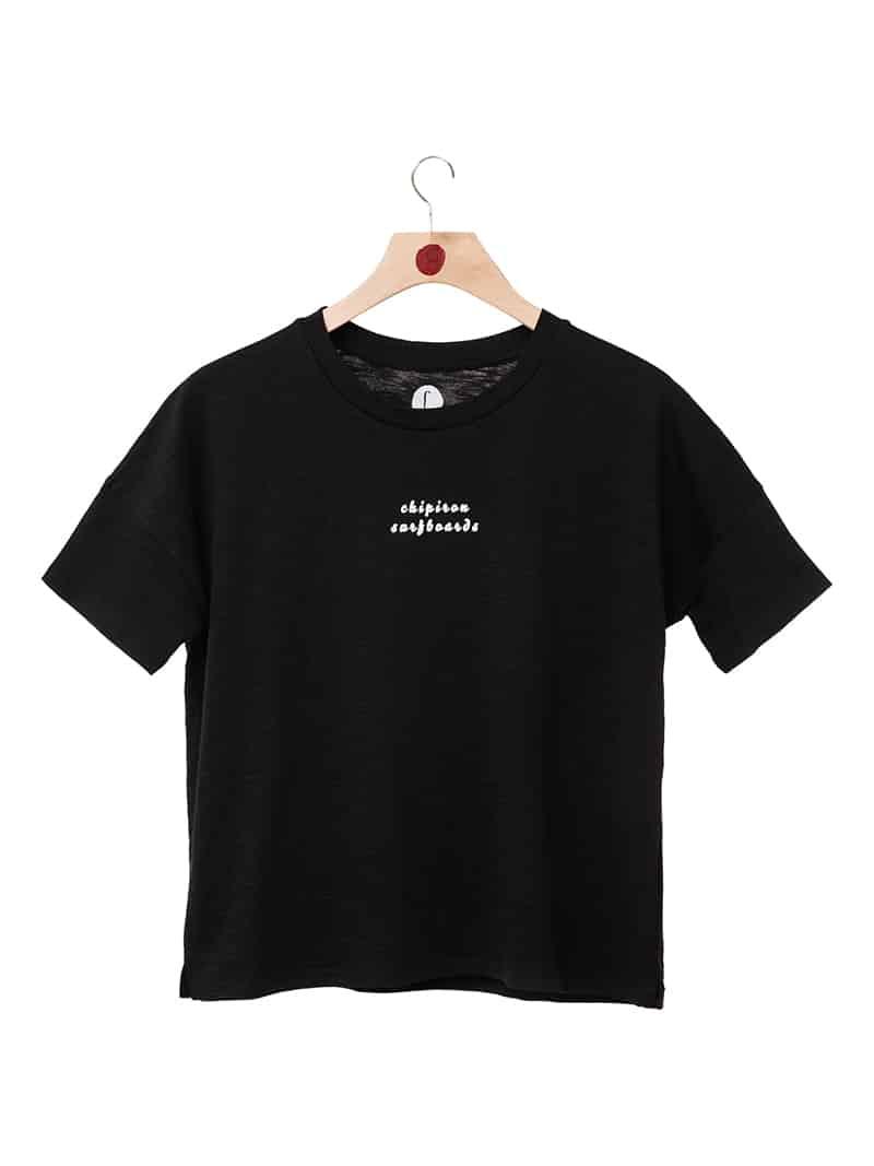 Tshirt sirene Chipiron noir front