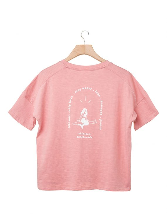 Tshirt sirene Chipiron rose back