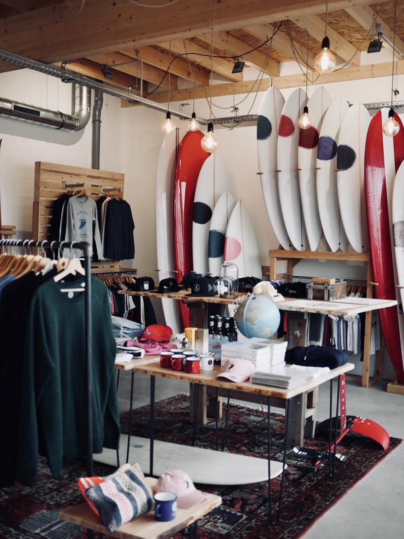 Our new surfshop in Pedebert