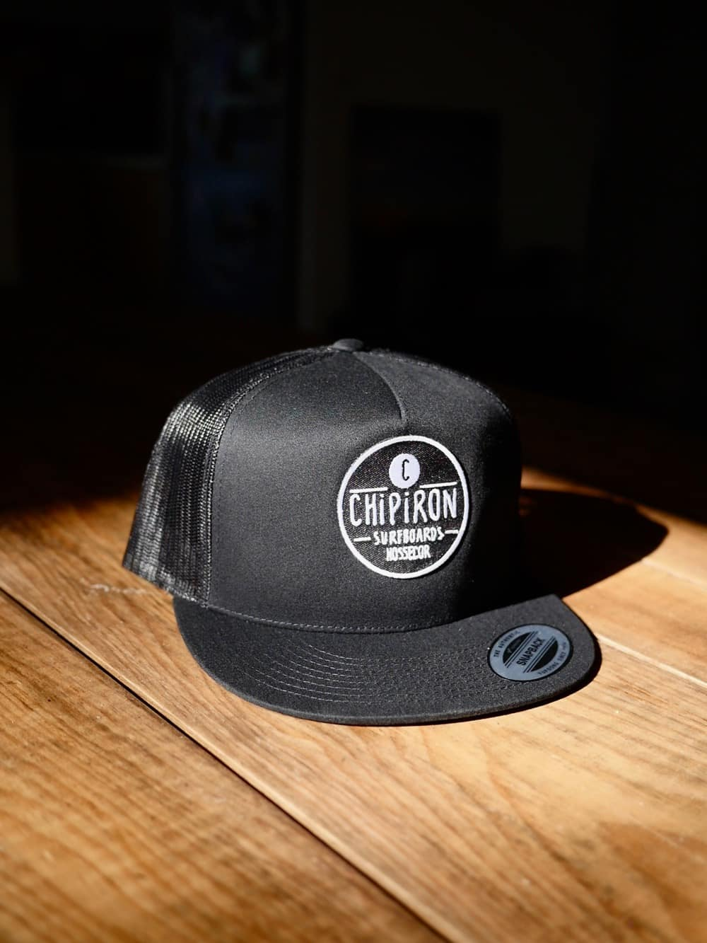 Trucker flat noire Chipiron