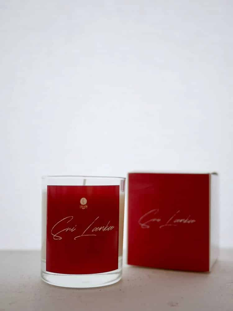Bougie Sri Lanka - collection olfactive Chipiron