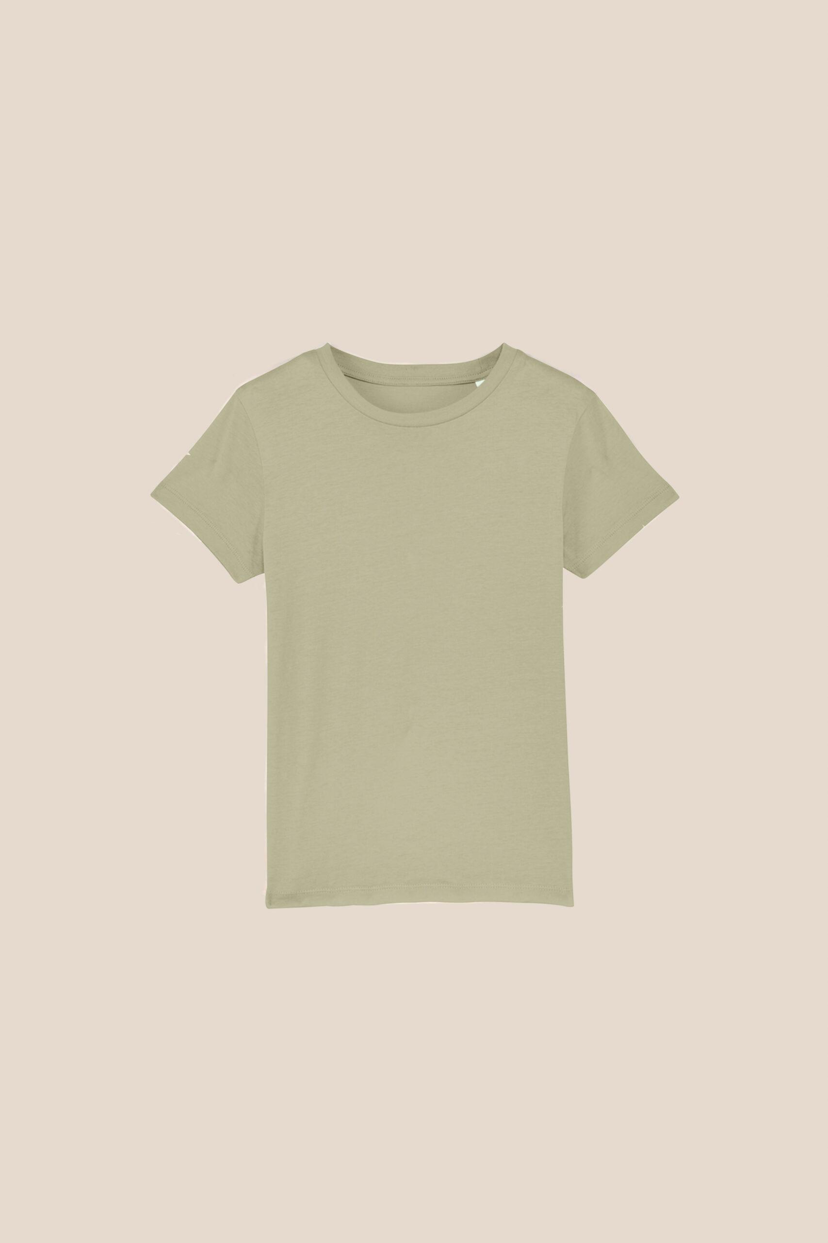 T-shirt Mini Patch enfant vert à customiser