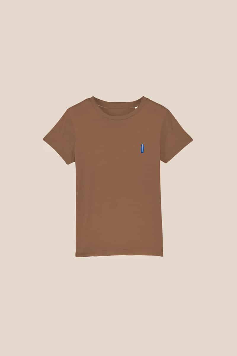 T-shirt Mini Patch enfant caramel à customiser