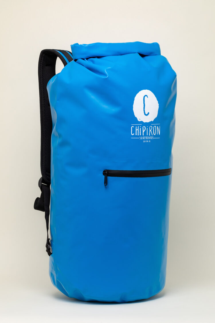 Dry Bag Sac étanche de surf bleu Chipiron Hossegor 30L