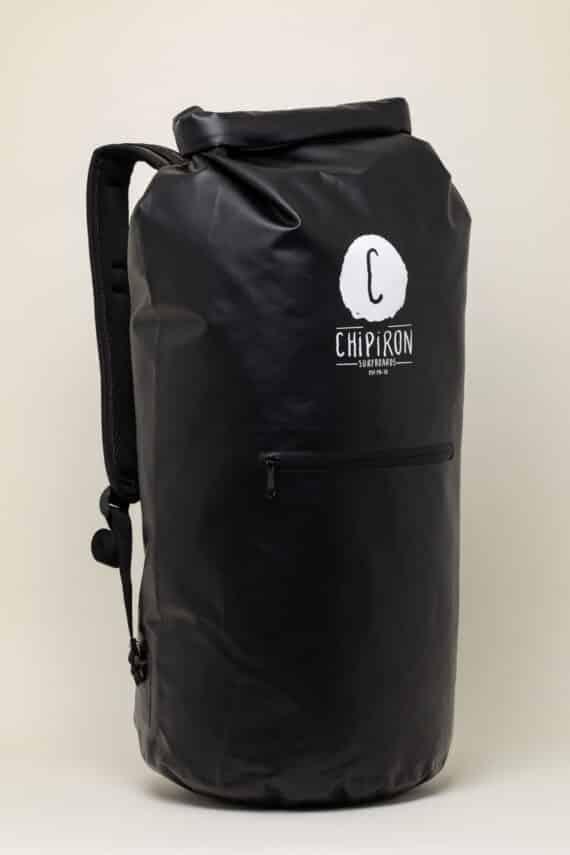 Dry Bag Sac étanche de surf noir Chipiron Hossegor 30L
