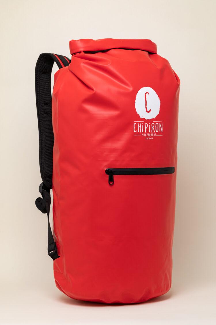 Dry Bag Sac étanche de surf rouge chipiron Hossegor 30L