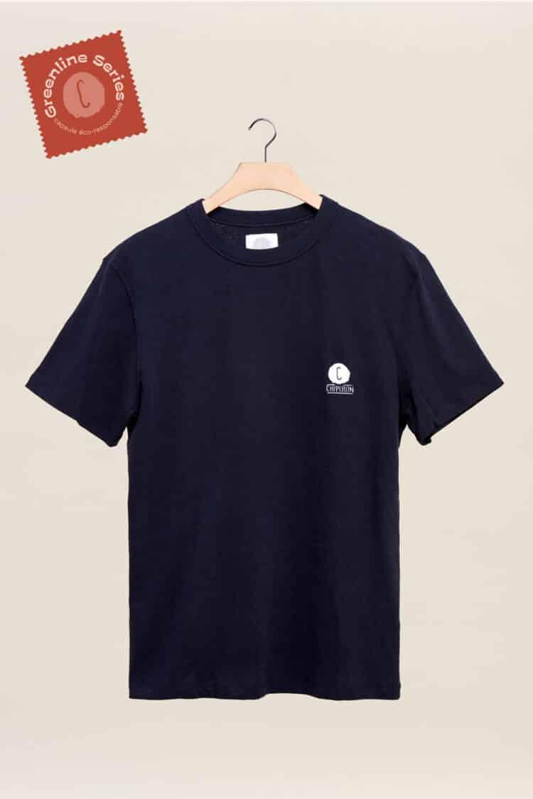 Nouveau tshirt noir greeline séries la ligne éco responsable par Chipiron