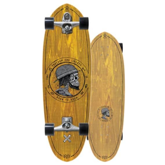 """skate carver hobo 32,5"""" Chipiron surf hossegor"""
