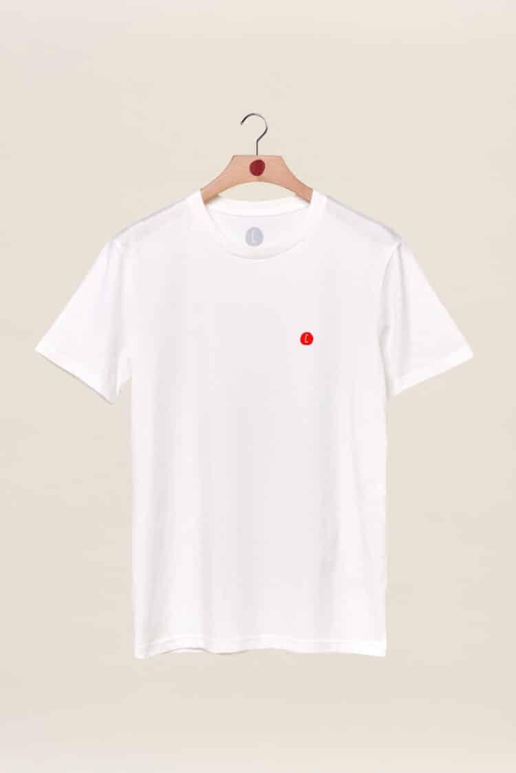 t-shirt blanc back to basics Chipiron surf hossegor