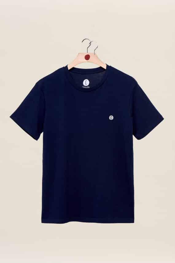 t-shirt navy back to basics Chipiron surf hossegor